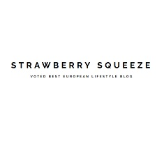 European lifestyle bloggers Award 2019 | Strawberry Squeeze