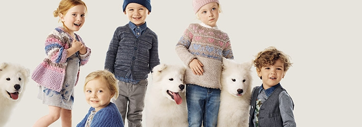 Cute Children with their Dogs