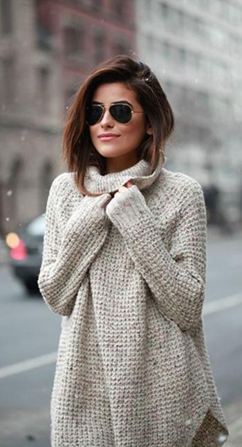 Woman wearing Jacket.