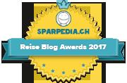 Reise Blog Award 2017 Badges