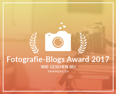 Banner für Fotografie-Blogs Award