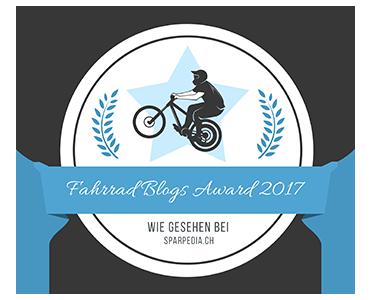 Banner für Fahrrad Blogs Award 2017
