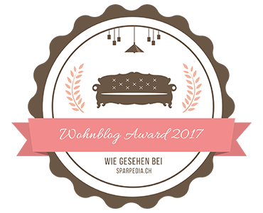 Banner für Wohnblog Award 2017