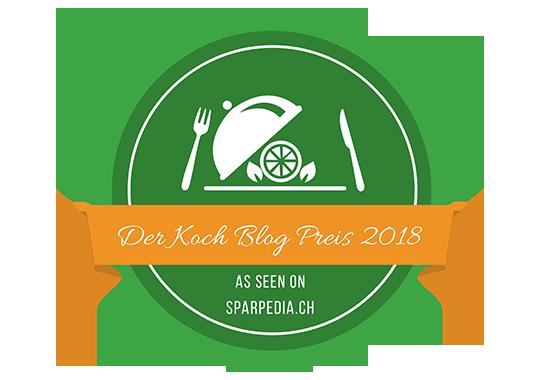 Banner für Der Koch Blog Preis 2018