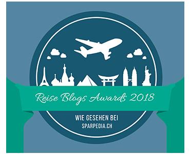 Banner für Reise Blogs Award 2018