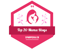 Banner für Top 20 Mama Blogs 2018