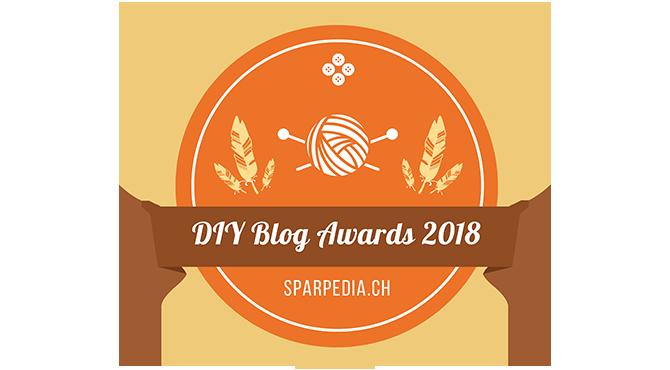 Banner für DIY Blog Preis 2018
