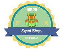Banners for Top 20 Expat 2018 Blogs