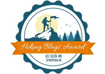 Banners For Hiking blogs Award
