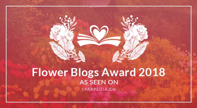 Banners for Flower Blogs Award 2018