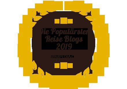 Banners for Die Populärsten Reise Blogs 2019