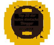 Banner für Top 30 der besten deutschen Blogger