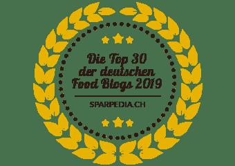 Banners für Die Top 30 der deutschen Food Blogs 2019