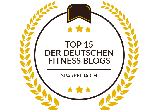 Banners für Top 15 der deutschen Fitness Blogs